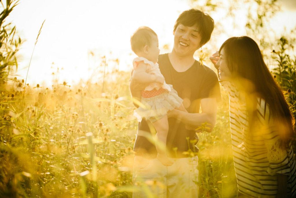 家族写真 北海道
