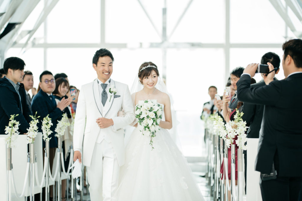 シェラトングランデ東京ベイ 結婚式 退場