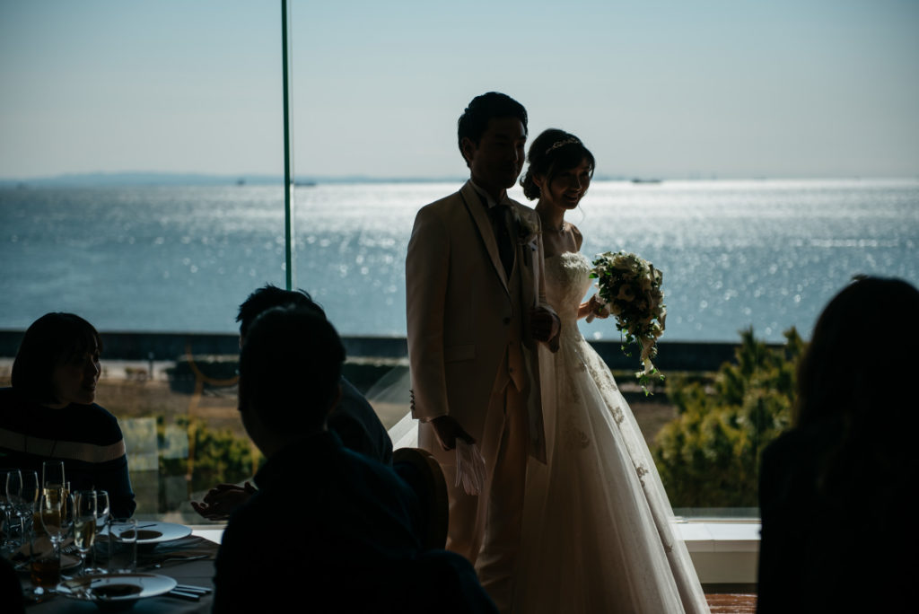 結婚式 中座 写真のテイスト