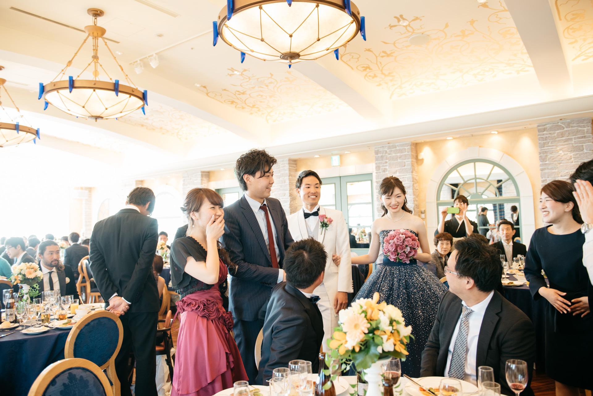 シェラトングランデ東京ベイ 結婚式 披露宴