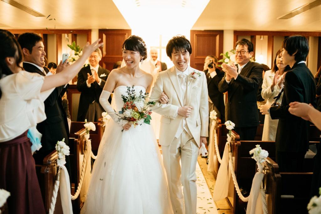 結婚写真 保管 挙式退場