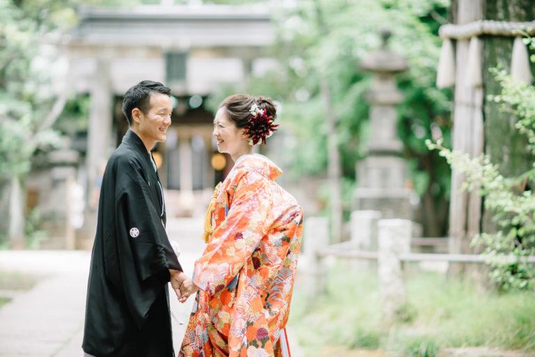 赤坂氷川神社 結婚式 写真撮影