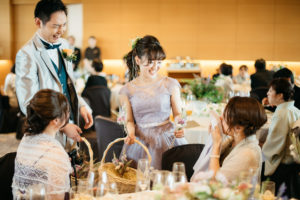 結婚式 持ち込み撮影 披露宴 カラードレス ハイアットリージェンシー