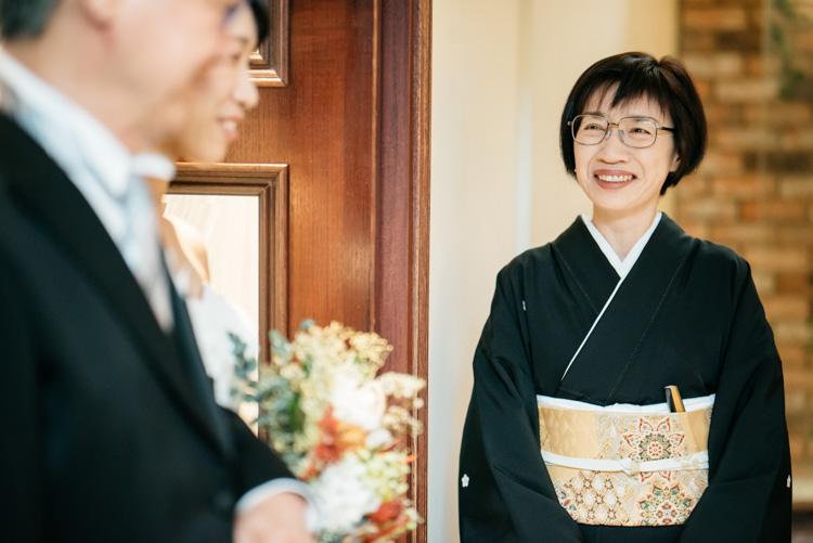 青山エリュシオンハウス 結婚式の外注持ち込みカメラマン お母さん