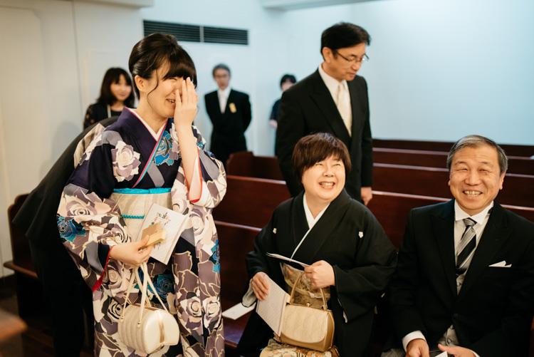 青山エリュシオンハウス 結婚式の外注持ち込みカメラマン お姉ちゃん