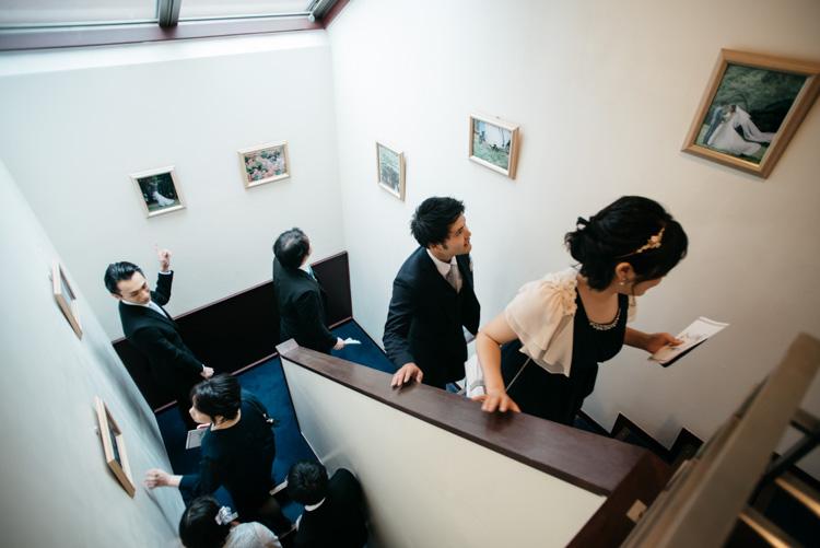 青山エリュシオンハウス 結婚式の外注持ち込みカメラマン ゲスト移動