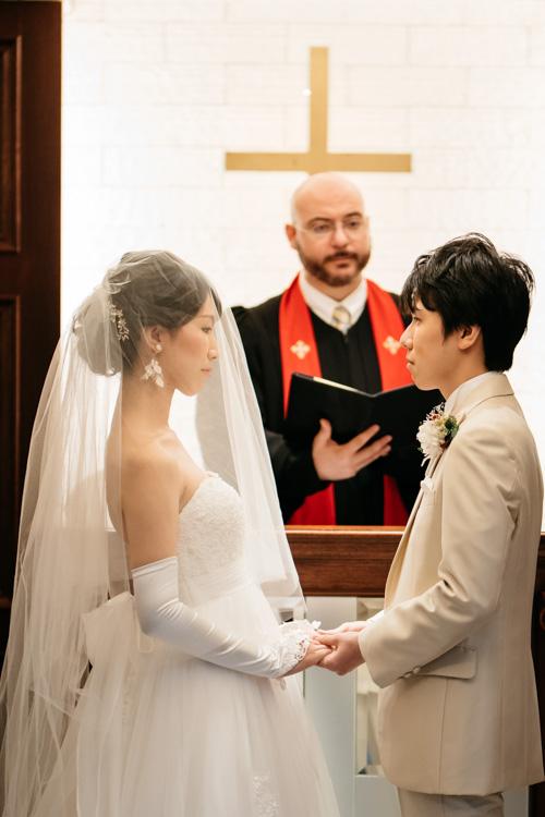 青山エリュシオンハウス 結婚式の外注持ち込みカメラマン 誓いの言葉
