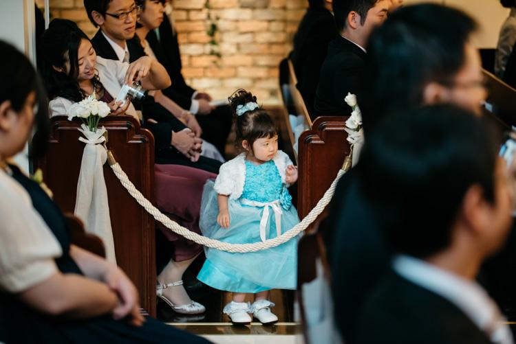 青山エリュシオンハウス 結婚式の外注持ち込みカメラマン 子供