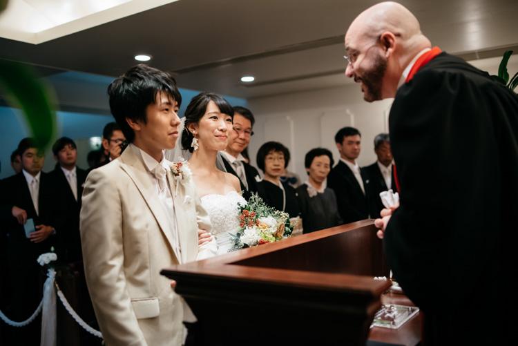 青山エリュシオンハウス 結婚式の外注持ち込みカメラマン 挙式おわり