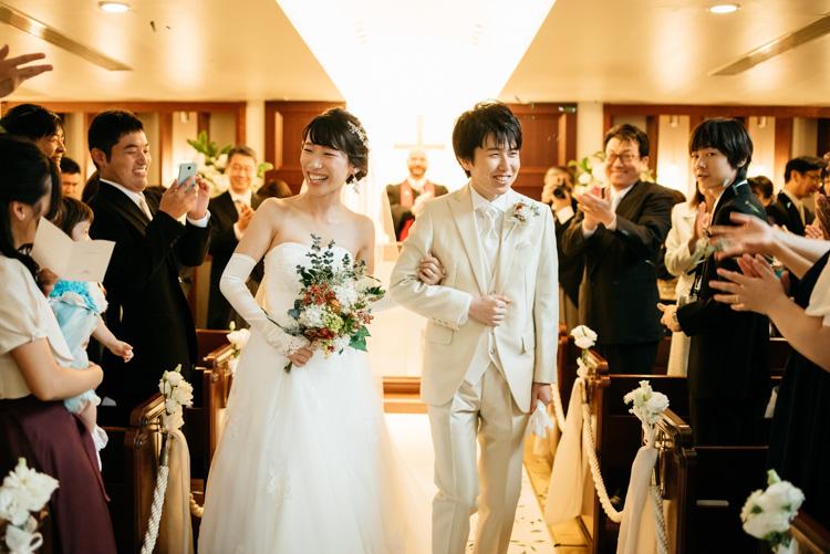 青山エリュシオンハウス 結婚式の外注持ち込みカメラマン 退場