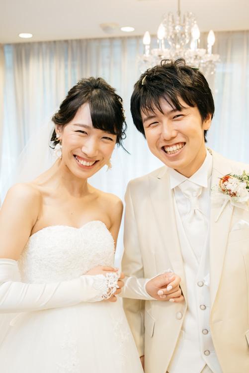 青山エリュシオンハウス 結婚式の外注持ち込みカメラマン 挙式後のふたり