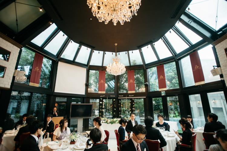 青山エリュシオンハウス 結婚式の外注持ち込みカメラマン 披露宴会場