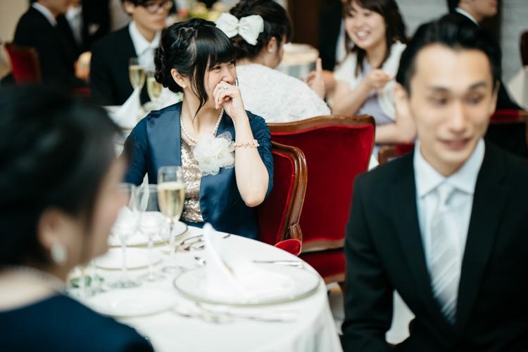 青山エリュシオンハウス 結婚式の外注持ち込みカメラマン ゲストの笑顔