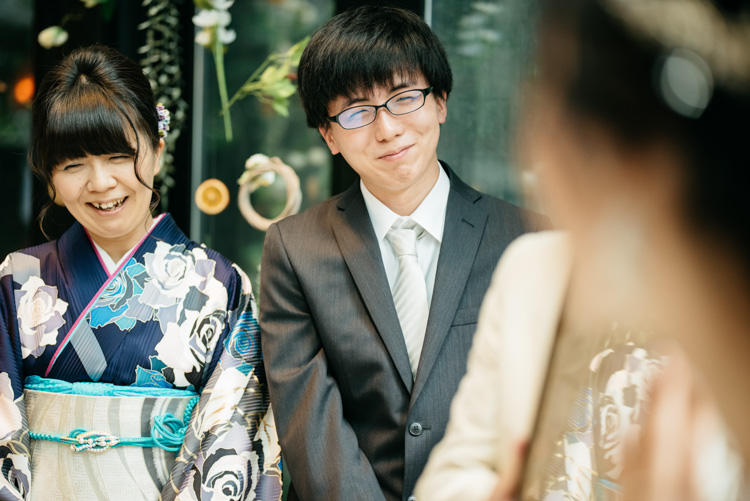 青山エリュシオンハウス 結婚式の外注持ち込みカメラマン 兄弟の笑顔