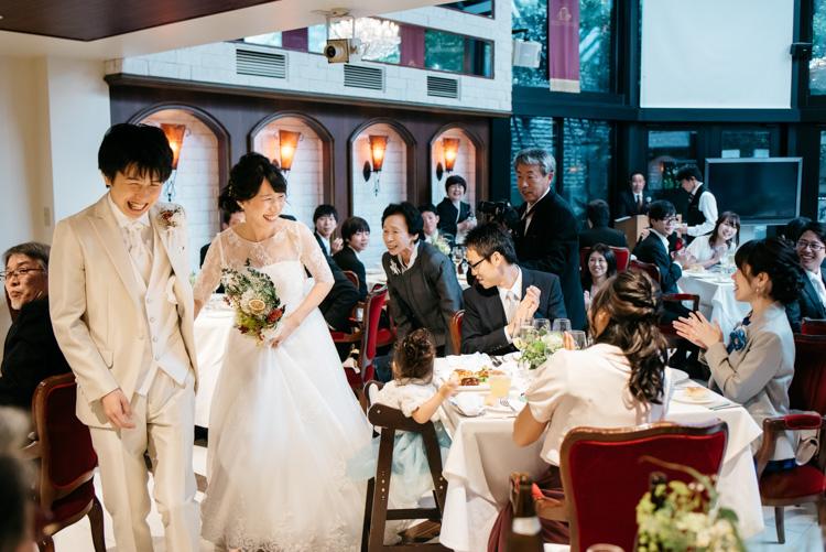青山エリュシオンハウス 結婚式の外注持ち込みカメラマン 中座