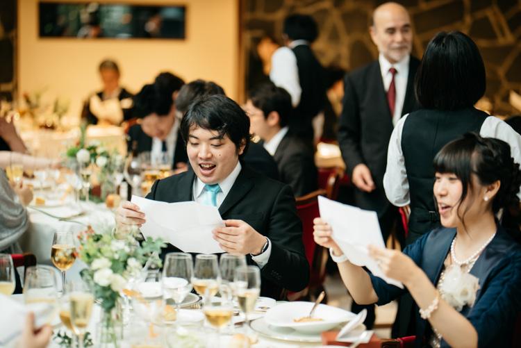 青山エリュシオンハウス 結婚式の外注持ち込みカメラマン 驚くゲスト