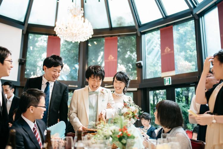 青山エリュシオンハウス 結婚式の外注持ち込みカメラマン ラウンド