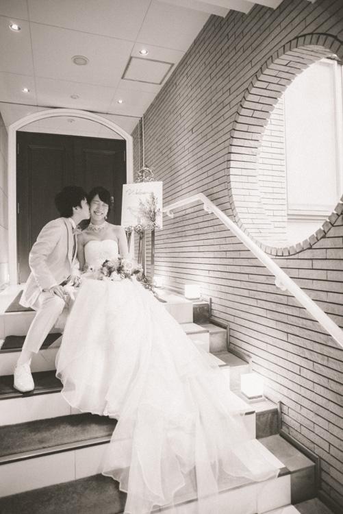 青山エリュシオンハウス 結婚式の外注持ち込みカメラマン ラストキス