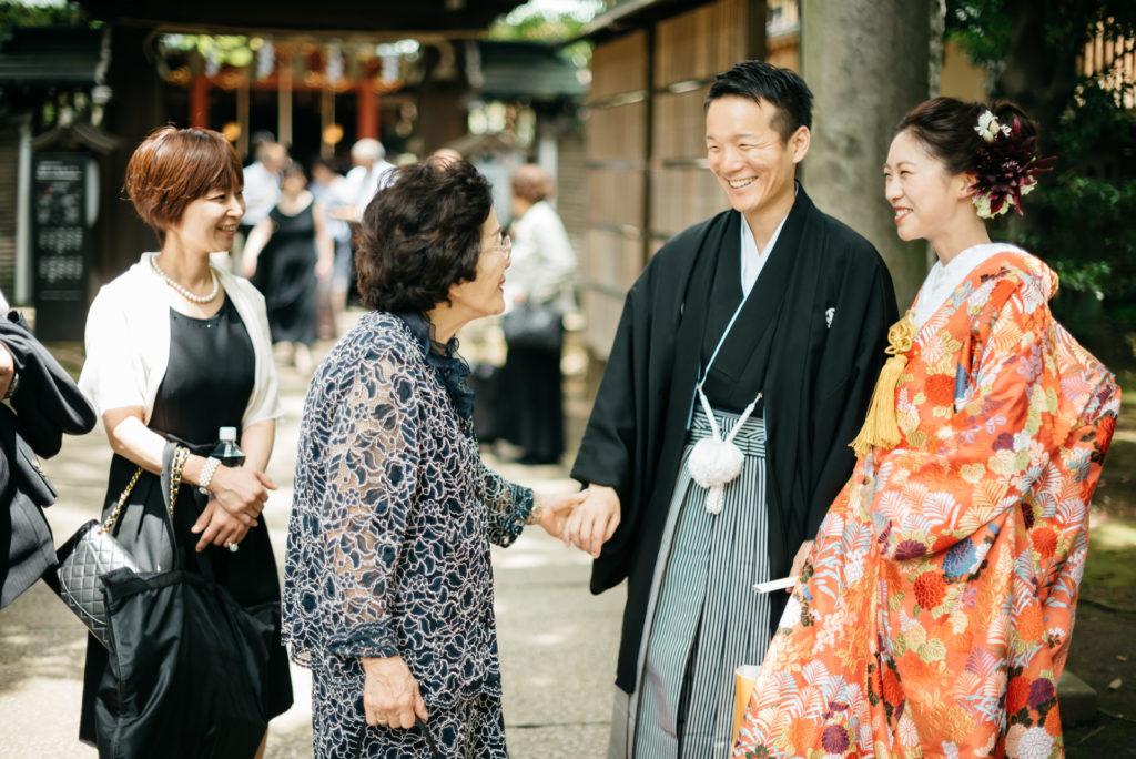 結婚式の写真撮影 アンダーズ東京 おばあちゃん