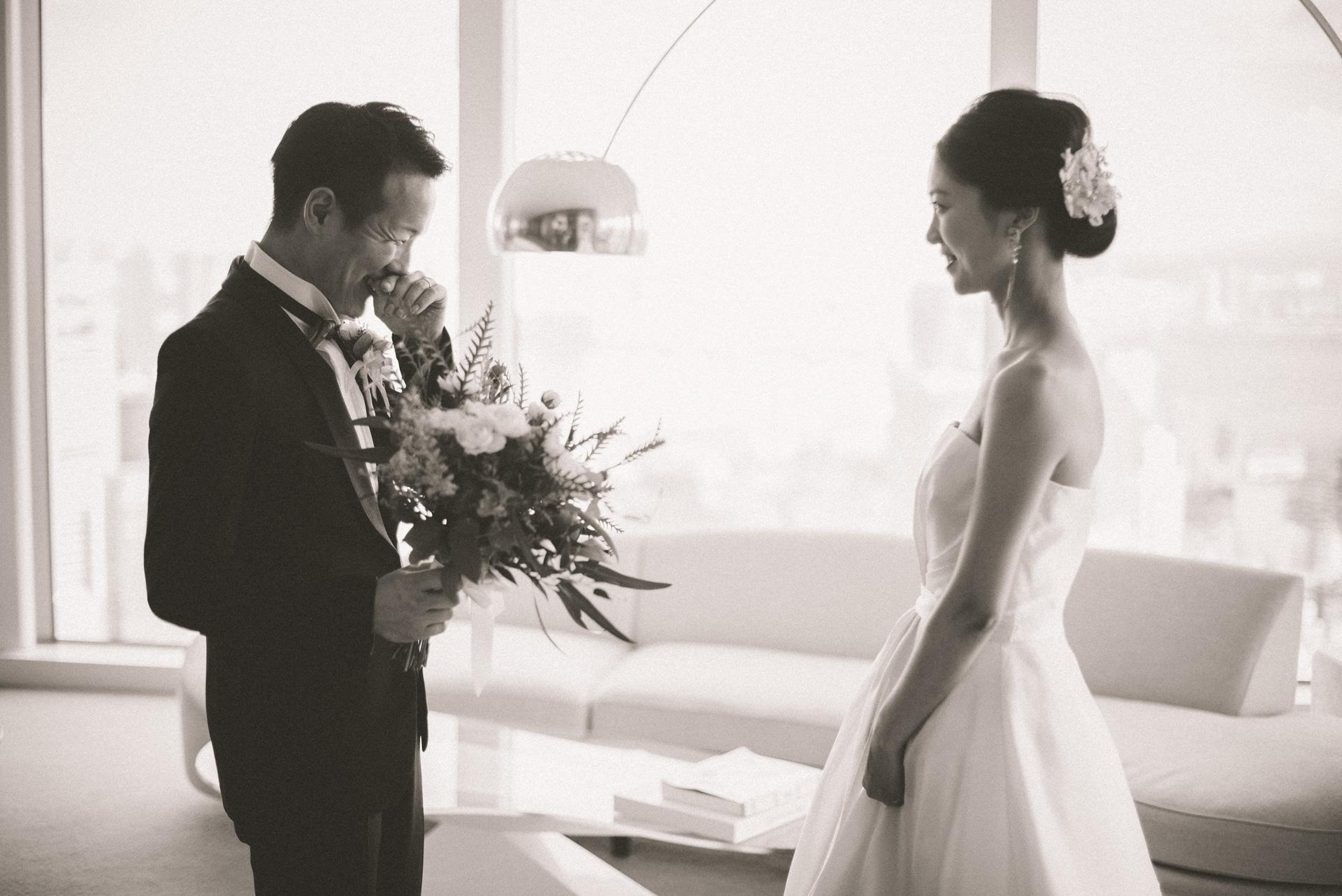 結婚式の写真撮影 アンダーズ東京 ファーストミート