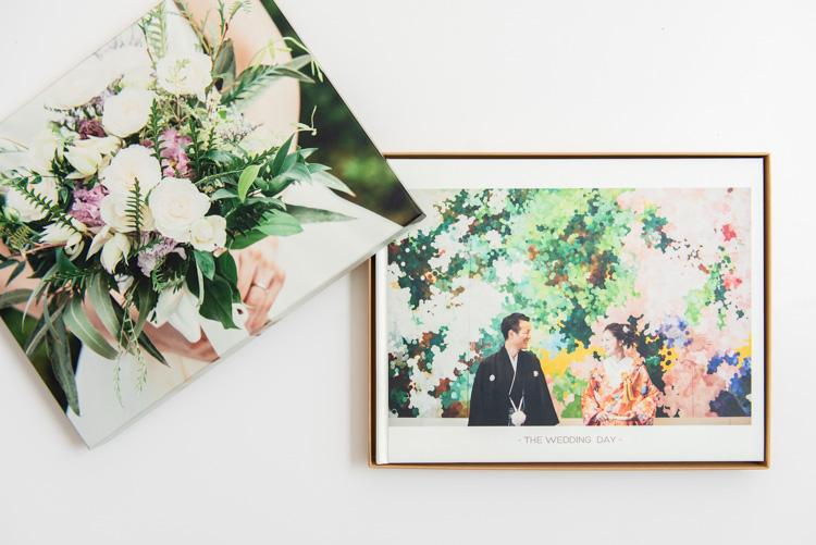 結婚式のアルバム 表紙