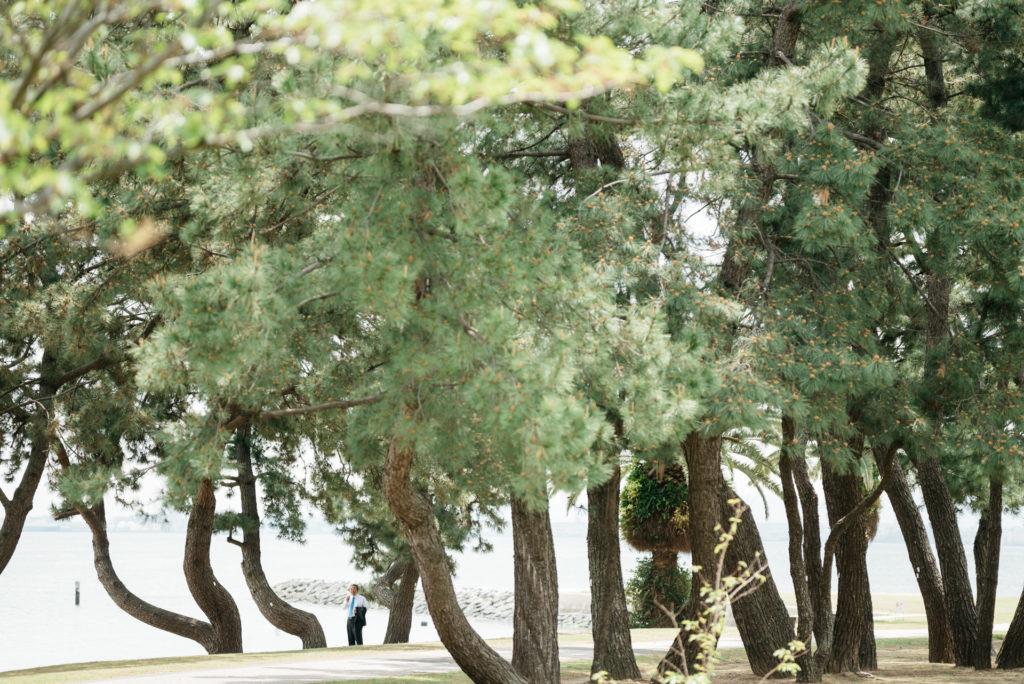福岡 フォトウェディング マリンワールド海の中道
