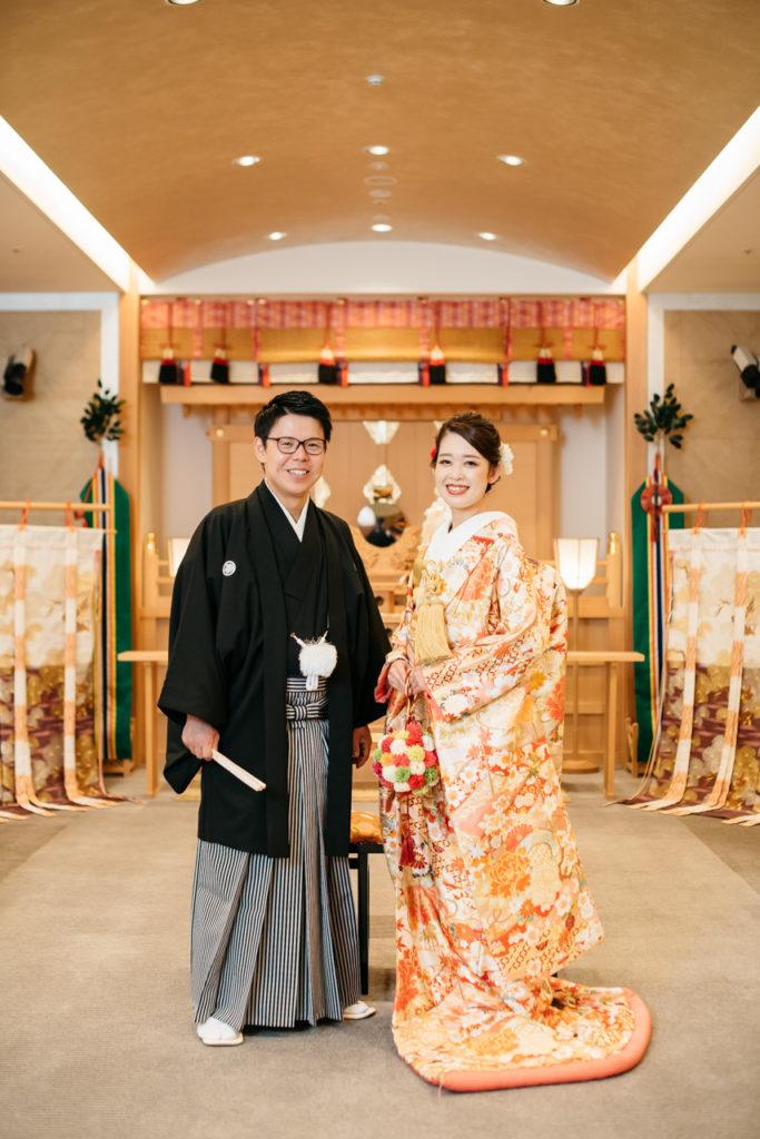 セルリアンタワー 渋谷 結婚式 持ち込みカメラマン 色打掛