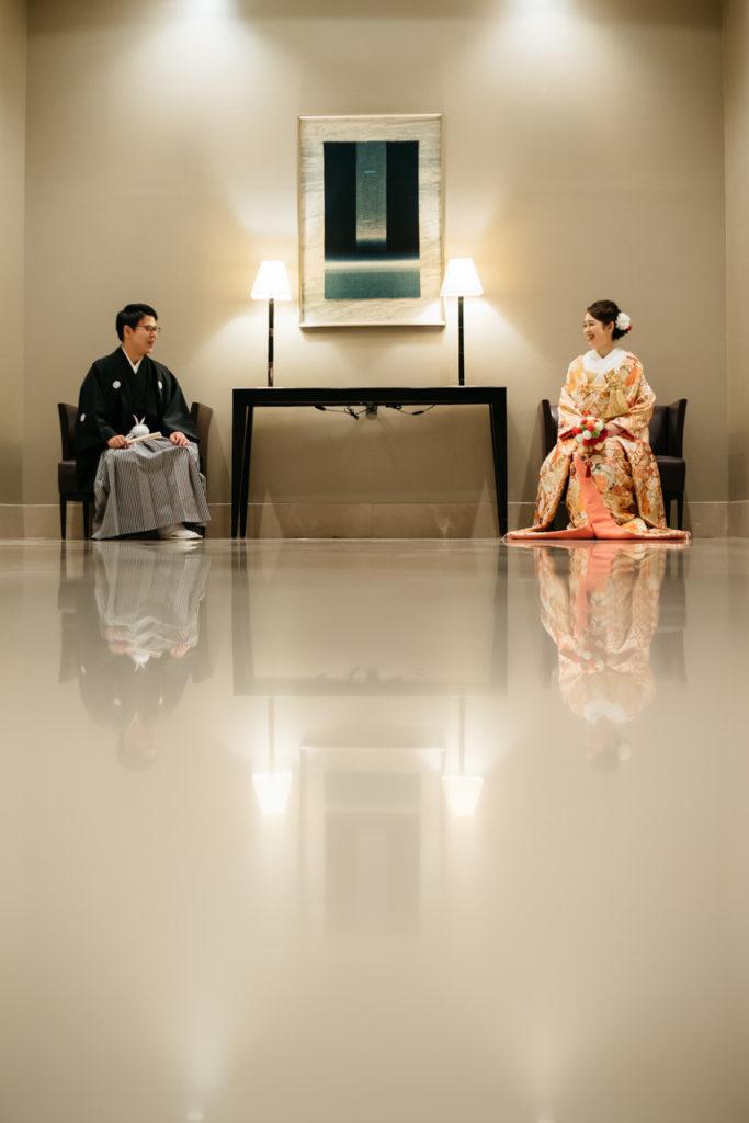 セルリアンタワー 渋谷 結婚式 持ち込みカメラマン 和装