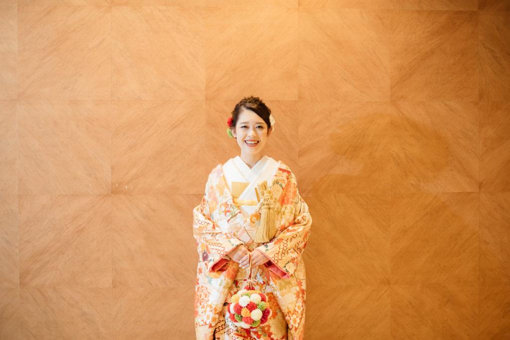 セルリアンタワー 渋谷 結婚式 持ち込みカメラマン 新婦 和装