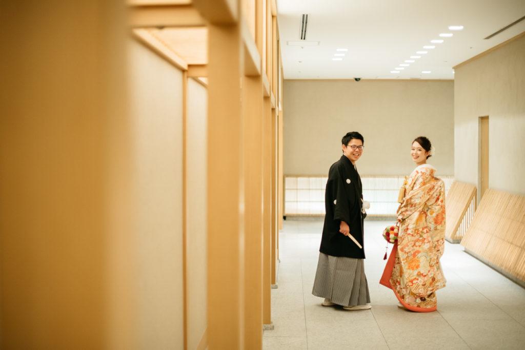 セルリアンタワー 渋谷 結婚式 持ち込みカメラマン 2ショット