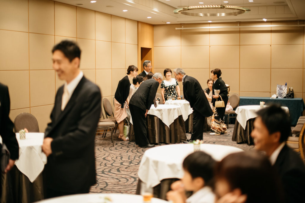 セルリアンタワー 渋谷 結婚式 持ち込みカメラマン 親族