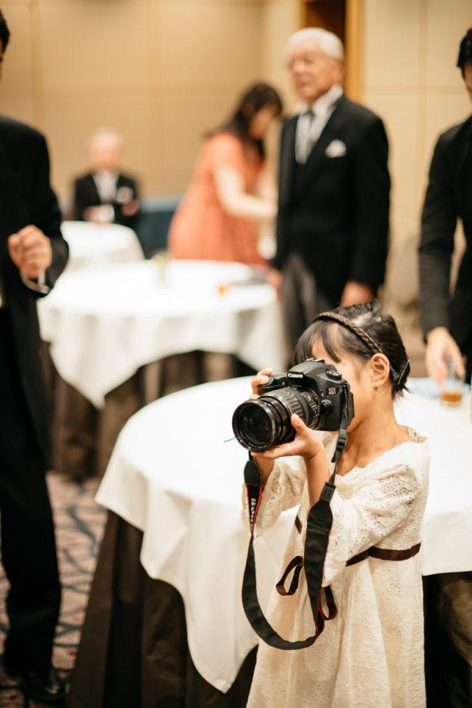 セルリアンタワー 渋谷 結婚式 持ち込みカメラマン 子ども