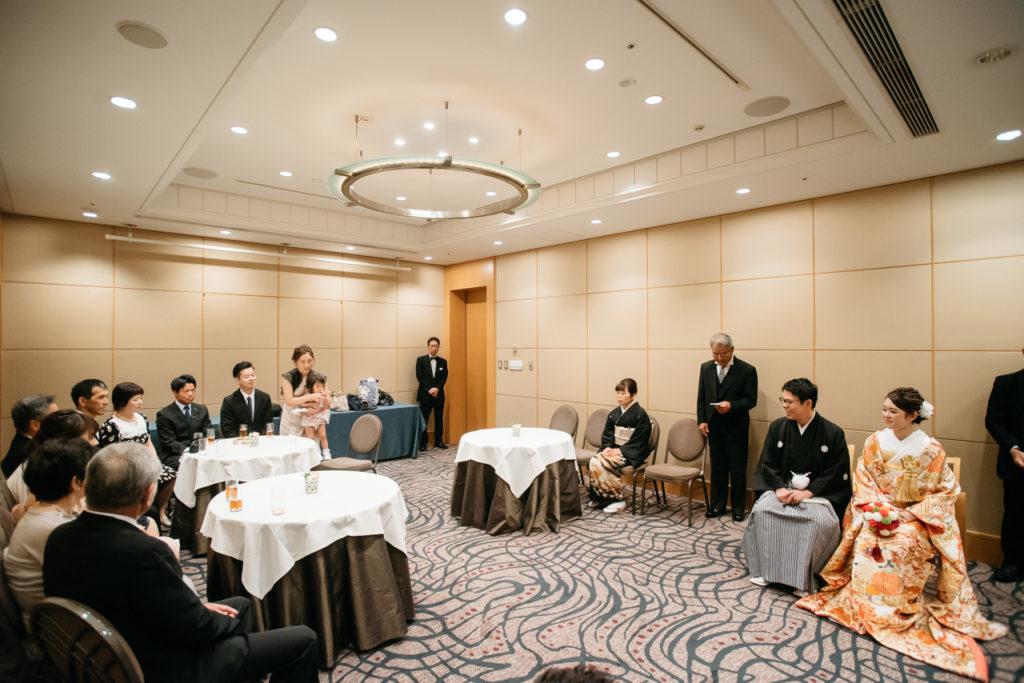 セルリアンタワー 渋谷 結婚式 持ち込みカメラマン 親族紹介