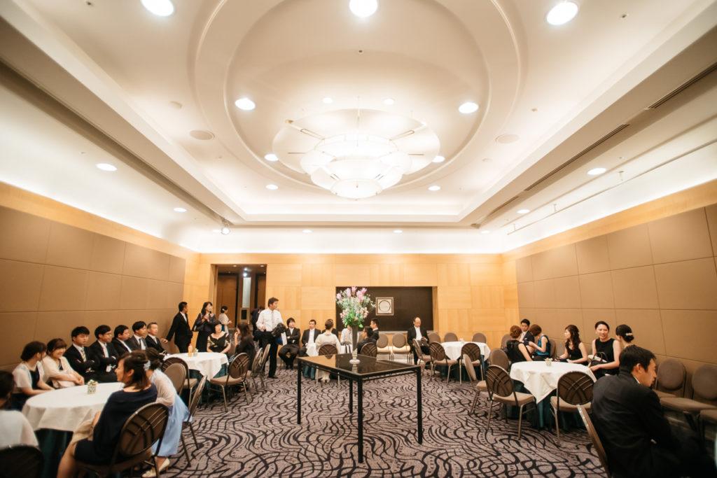 セルリアンタワー 渋谷 結婚式 持ち込みカメラマン 控え室
