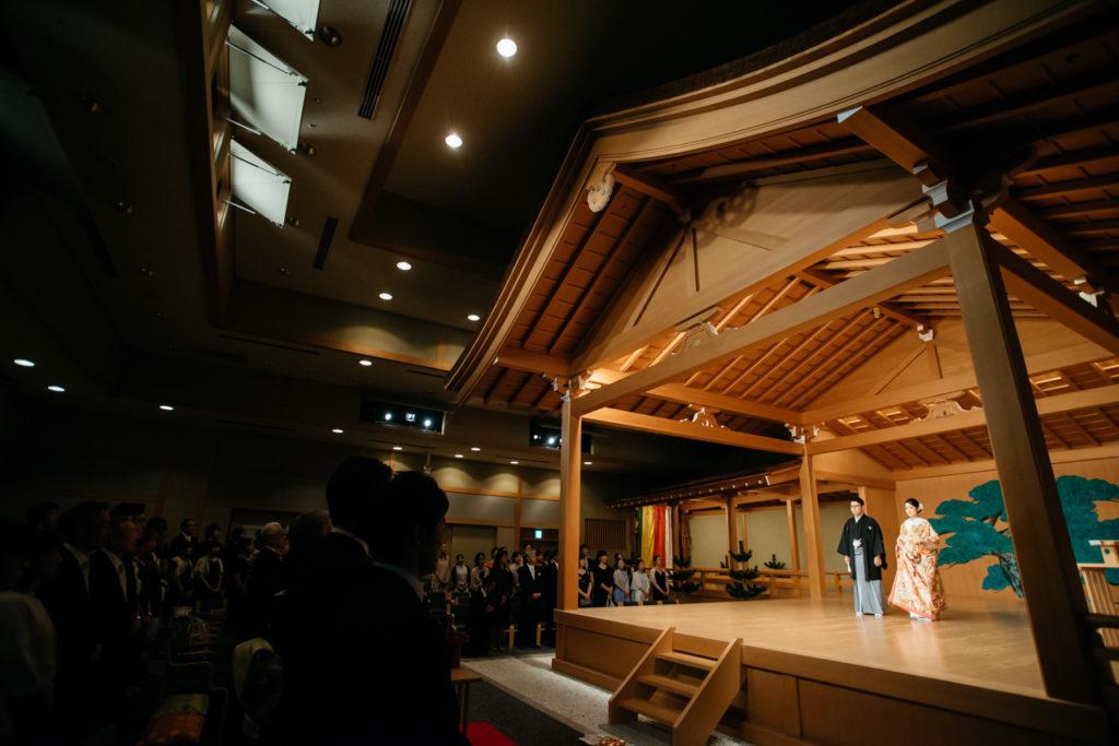 セルリアンタワー 渋谷 結婚式 持ち込みカメラマン 挙式