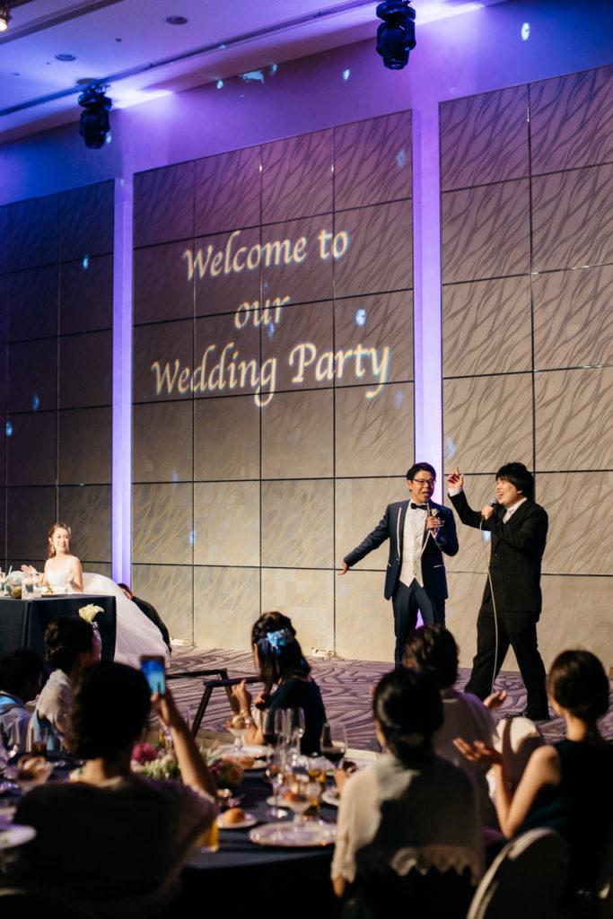 セルリアンタワー 渋谷 結婚式 持ち込みカメラマン 歌