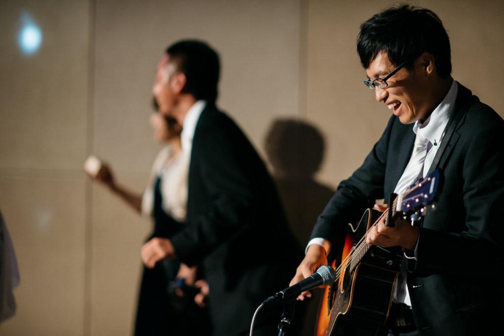 セルリアンタワー 渋谷 結婚式 持ち込みカメラマン 演奏