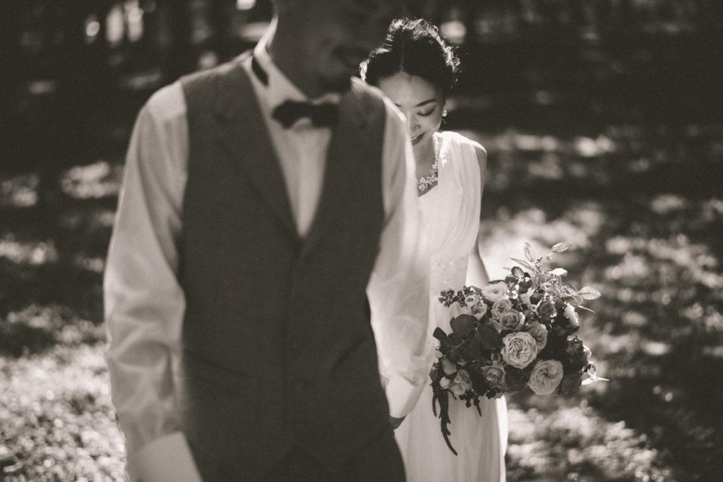 ウェディングドレス 前撮り 洋装 ロケーション撮影