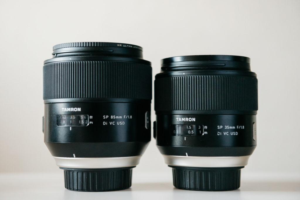 TAMRON タムロン 35mm 85mm レンズレビュー