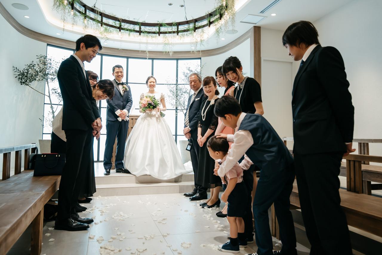結婚式の当日撮影 ブライダルカメラマン Fika and Fotos ウェディングフォト